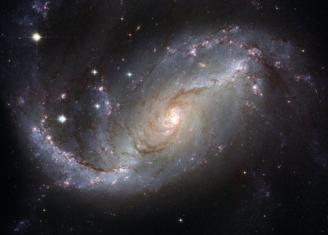 An image of the Milky Way galaxy.